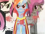 3 Mad Mares by sonicfan1143