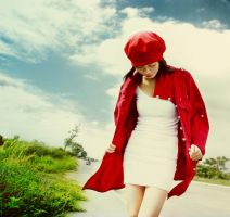 hey, girl in red by curlytops