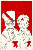 Chapayev and Furmanov by the-black-cat
