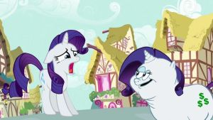Rarity has been doubled! by DayDreamSyndrom