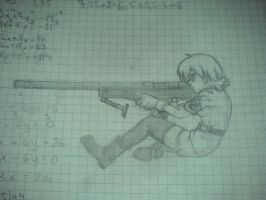 Seras Victoria Drawing by Infinityl33t