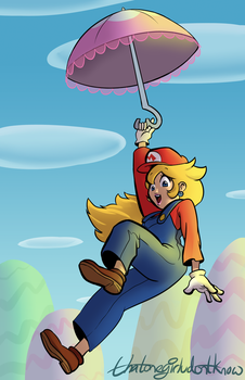 Princess Peach by Thatonegirludontknow