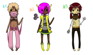 Adoptables Batch I [OPEN] by ShadowWilloW