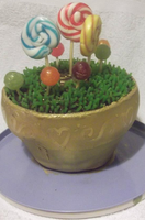 Lollypop plant cake by waffle-faceXD