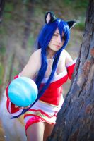 Ahri Cosplay photoshoot by Danae Flores :3 by RosseSinner