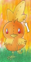 torchic plushie by jhaicblank