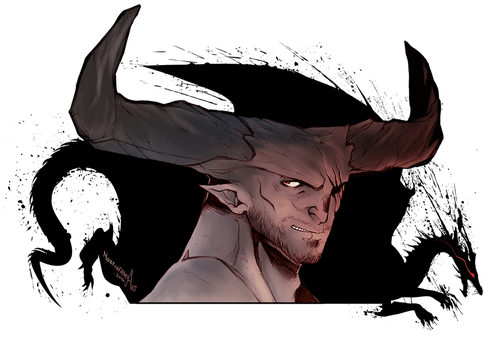 The Iron Bull by mortinfamiART