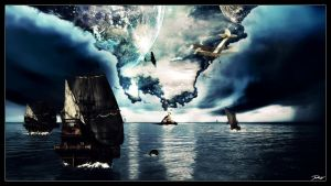 Secret of Bermuda Triangle by TakeIn