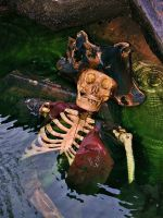 Drowned Skeleton by InnsmouthFishwife