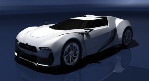 Citroen GT Concept 'Front' by Shuyab