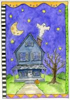 Haunted House by beckadoodles