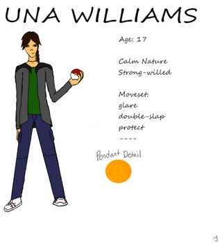 Una Williams Reference sheet by Poes-crow