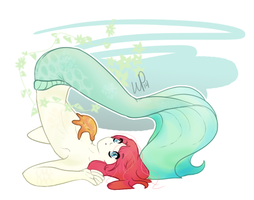 Mermaid by WilderPie