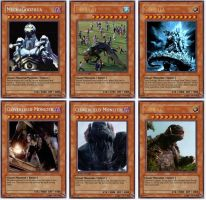 Giant Monsters YuGiOh cards 1 by LordSmog