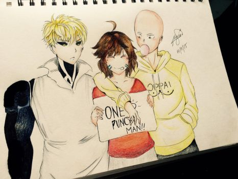 One Punch Man!!  by Synccantia