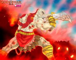 THE GOD OF WAR by TOKITOS