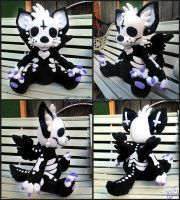 OC Plush - Thanatos by xBrittneyJane