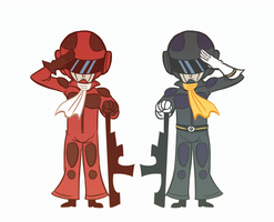 G3 Soldiers by Aggie-ness