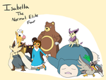 Elite Four: Isabella by DragonCuali