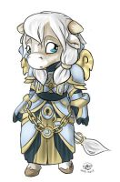 Chibi Tauren Priest by Shalinka