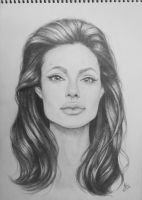 Angelina Jolie by LPVictoria