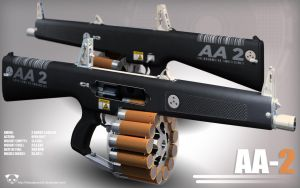 AA-2 Automatic Shotgun by TheBadPanda2