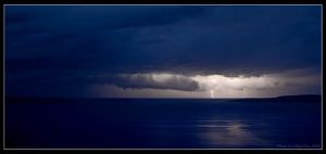 Storm on the sea by Lidija-Lolic