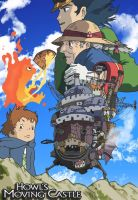 Howls moving castle by AndyPritchard
