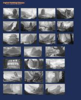 landscape sketches by lepyoshka
