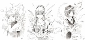 Free sketches by Risa1