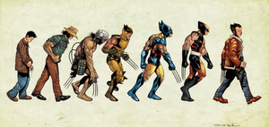 Wolverine Evolution by drucpec