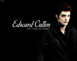 Edward Cullen Wallpaper Two by bondofflamex3