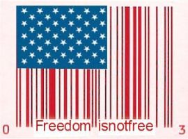 freedom is not free by guitarbemis