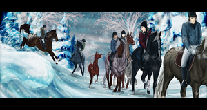 Winter Ride by Jullelin