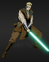 Jedi Knight by Eruantien-Fett