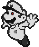 Ghost Mario Sprite (Big) by Creepypasta81691