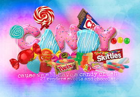 Candy Render Pack by LuanaF