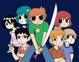Scott Pilgrim by narutobakasan
