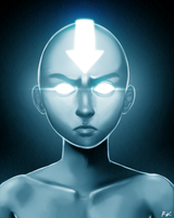 Legend of Aang - The Avatar state by ReneeViolet