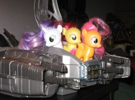 CUTIE MARK CRUSADER SPACE CADETS YAAAY by AleximusPrime