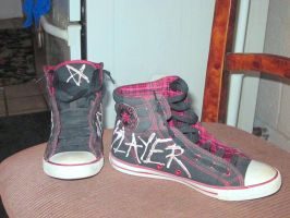 All-Star Slayer Converse 01 by killerdee187