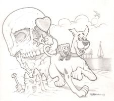 Valentine's Day Pencil Commission by BillMcKay