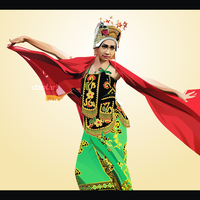 Vector Art Traditional Dancer by ndop