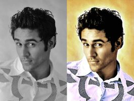 Colourization Before and After by caorr