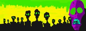 Neon Zombies by Ashen7