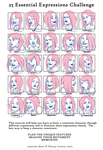 25 essential expressions - Ariel by HetteMaudit
