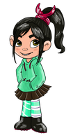 Vanellope 2 by Airy-F