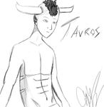 Tavros w/o blush by Rose-Disciple