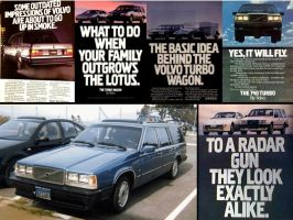Volvo ads rock 740 760 TURBO by Partywave
