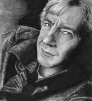 Alan Rickman by watchherpaint